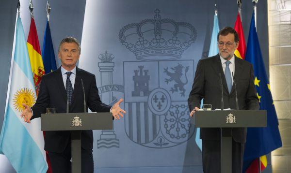 Macri sella reconciliación con España y la insta a invertir en Argentina - Noticias de españa