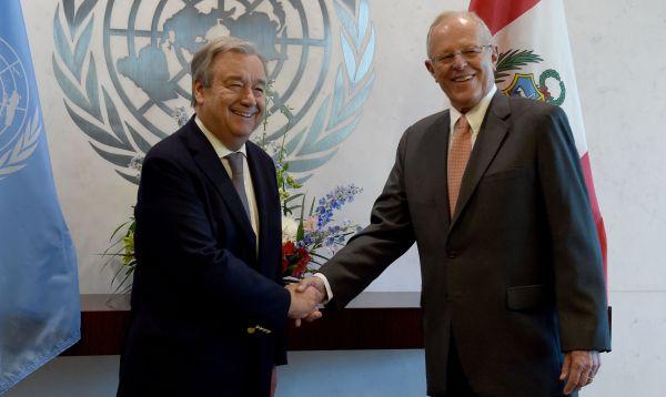 En la ONU, PPK alerta sobre peligro de emigración masiva desde Venezuela - Noticias de  ppk