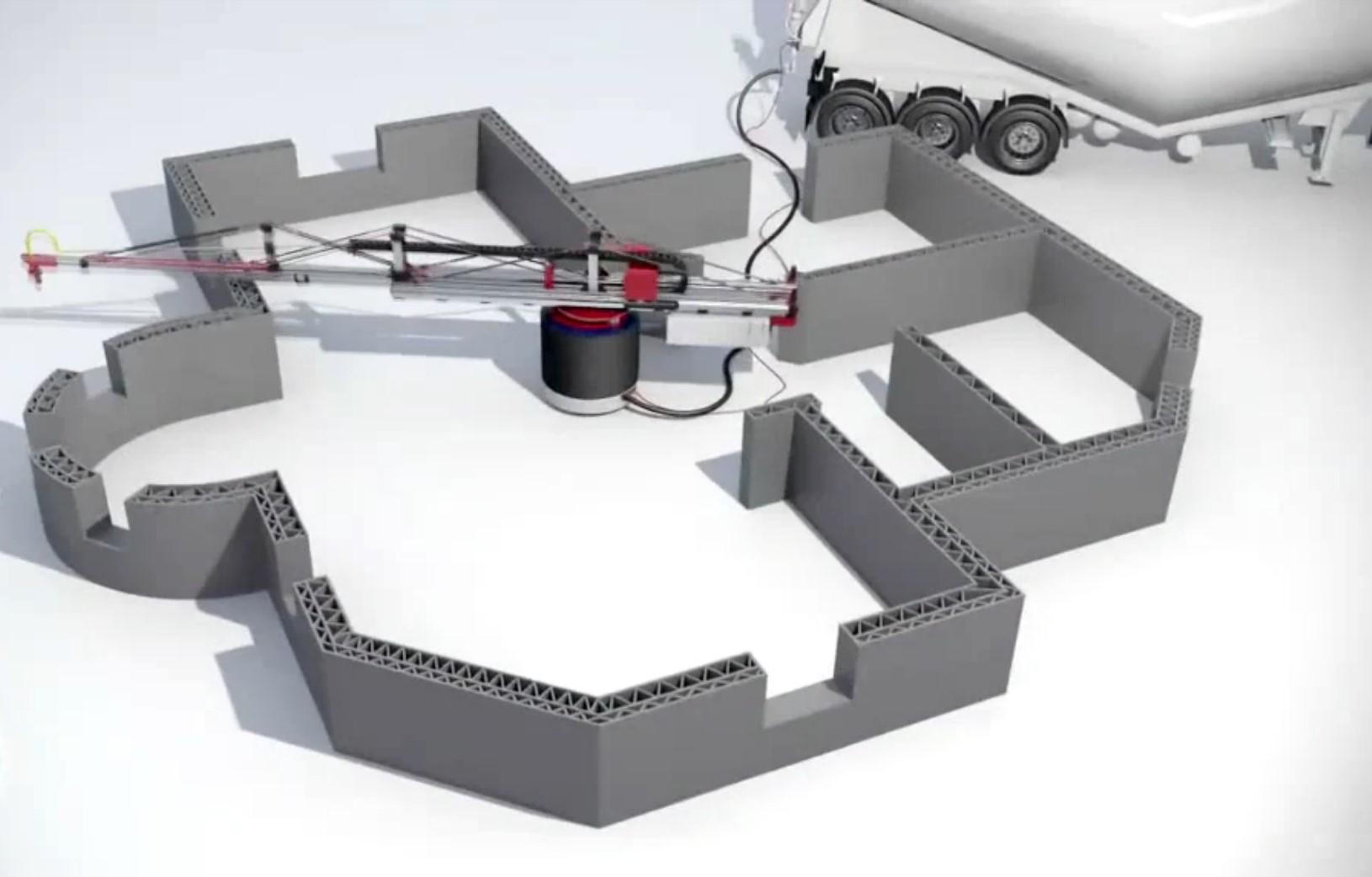 La impresora 3d capaz de construir una casa en un d a Impresion 3d construccion