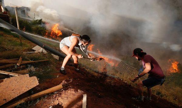 Chile enfrenta los peores incendios de su historia