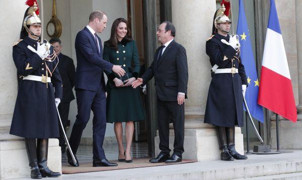 Guillermo y Catalina en París 20 años después de la muerte de la princesa Diana - Noticias de accidente automovilístico