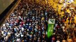 Línea 1 del Metro transportó a 17,000 pasajeros adicionales durante emergencia por huaico - Noticias de estacion gamarra