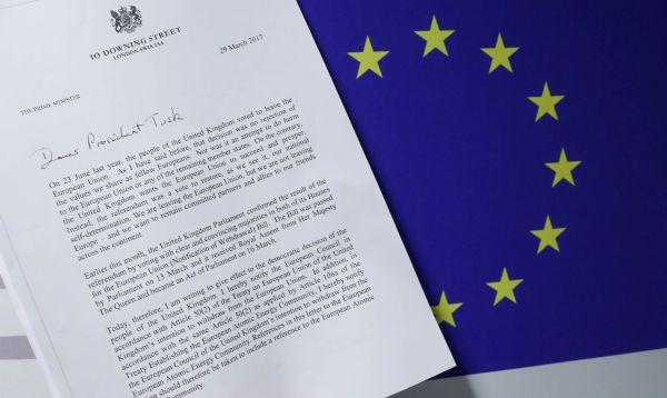 Con carta de Theresa May, Reino Unido activa de manera formal el proceso de Brexit - Noticias de donald tusk