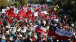 Así fue la masiva marcha en Chile contra sistema de pensiones AFP - Noticias de augusto pinochet