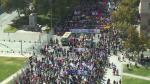 Chile enfrentó gigantesca protesta contra el sistema privado de pensiones - Noticias de michelle bachelet