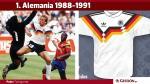 Las 25 camisetas más bonitas de la historia del fútbol - Noticias de integra