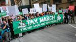 Protestas en EEUU para que Trump publique declaración de impuestos - Noticias de inversión privada