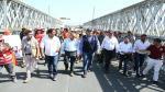 Trujillo: Se restablece tránsito vehicular en puente Virú con instalación de puente modular - Noticias de puente bailey