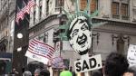 Nueva York recibió a Donald Trump en medio de protestas - Noticias de senado australia