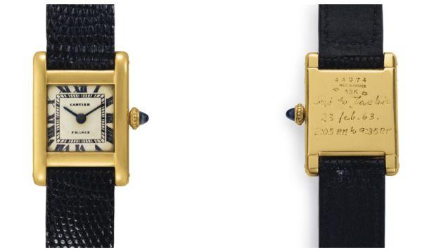 Reloj y pintura de Jackie Kennedy podrían alcanzar US$ 120,000 en subasta en Nueva York - Noticias de jackie kennedy