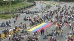 Opositores en Venezuela bloquean vías en protesta contra Maduro - Noticias de francisco lara rojas