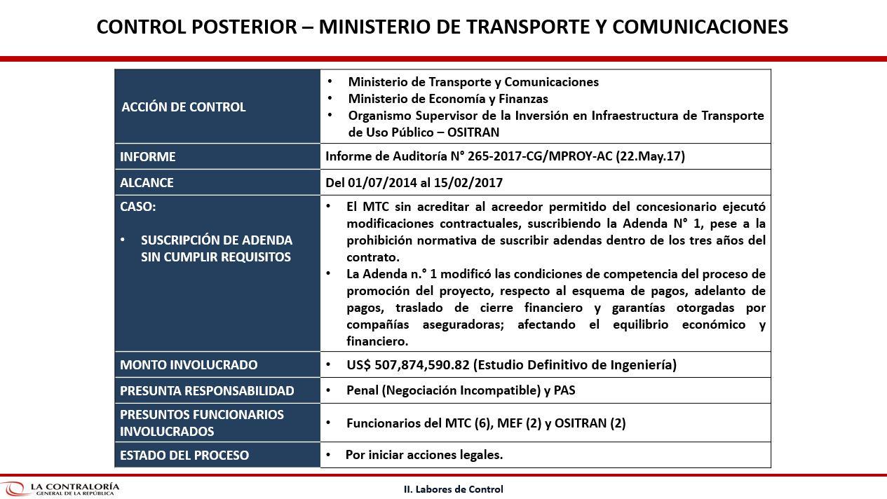 Ministerio de Economía asegura que adenda