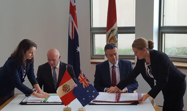 Perú y Australia firman acuerdo de servicios aéreos - Noticias de comercio lima
