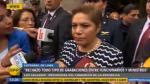 """Luz Salgado: Informe es """"bastante contundente respecto a conducta ética"""" del contralor - Noticias de julio cesar zavala"""