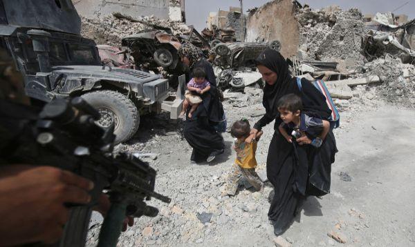 Irak: Civiles huyen masivamente ante ataque suicidas de los yihadistas - Noticias de irak