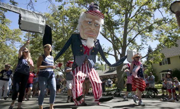 EE.UU.: California celebra el Día de la Independencia - Noticias de independencia de los ee.uu