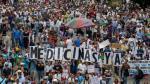 """""""La muerte no espera"""": venezolanos protestan por falta de medicinas - Noticias de cáncer de columna"""