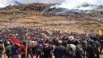 Conflictos sociales bajan a 177 en Perú por el Niño y menor inversión minera - Noticias de ordenamiento territorial