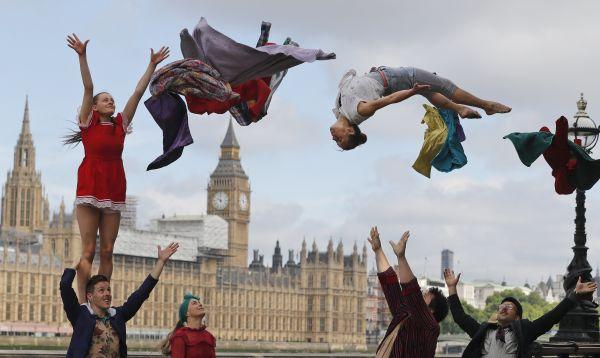 Reino Unido e Irlanda celebrarán los 250 años desde que se realizó un circo - Noticias de festival de londres