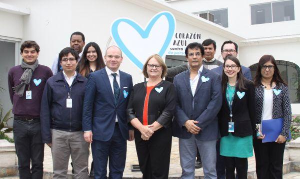 Nancy Lange: Primera dama participó en taller de prevención contra la trata de menores - Noticias de perú