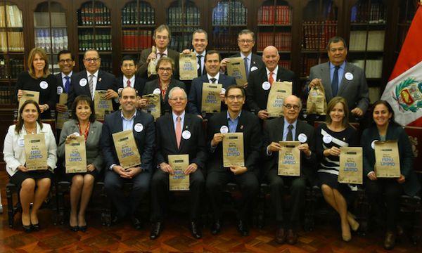 """Gabinete ministerial apoya la campaña """"Este 29 Yo Soy Perú Limpio"""" - Noticias de  ppk"""