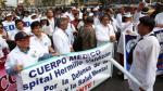MTPE desestima apelación de Federación Médica e insiste en declarar ilegal su huelga - Noticias de seguro integral de salud