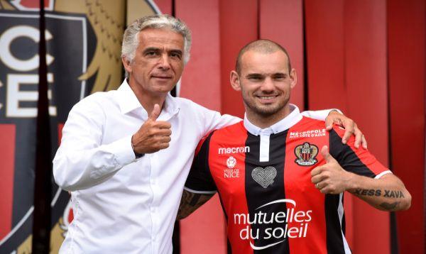 Wesley Sneijder jugará en el Niza - Noticias de mario balotelli