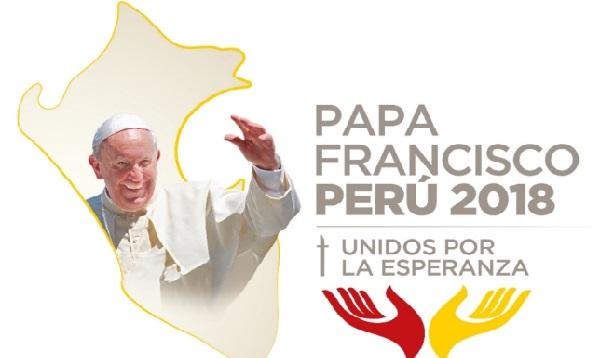 Dan a conocer el logotipo oficial de la visita del Papa Francisco al Perú