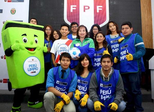 """Perú vs. Bolivia: 300 voluntarios participarán en """"Perú Limpio"""" durante partido - Noticias de elsa galarza"""