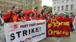 McDonald's enfrenta primera huelga de empleados en Reino Unido - Noticias de huelga de trabajadores