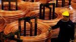Cobre cede por ventas de fondos y alzas de mercados de acciones - Noticias de huelga de trabajadores