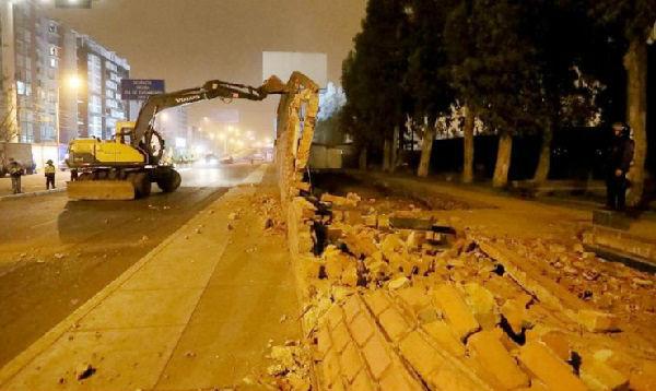 Municipio de Lima derribó paredes del Jockey Club para retomar obras en El Derby - Noticias de perú