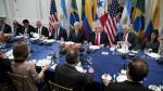 """Trump: Venezuela """"está colapsando"""" y su gente muere de hambre - Noticias de santos maduro"""